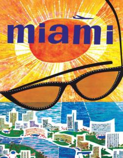 Miami Beach Graphics / Illustration Miniature Puzzle
