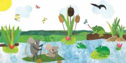 Paddling Pond Frog Children's Puzzles