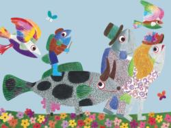 Fish Family Fish Children's Puzzles