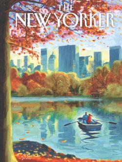 Central Park Row New York Jigsaw Puzzle