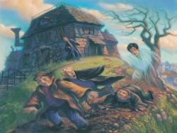 Shrieking Shack Harry Potter Jigsaw Puzzle