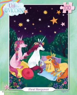 First Sleepover Unicorns Children's Puzzles