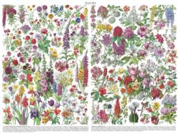 Flowers ~ Fleurs Flowers Jigsaw Puzzle