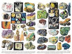 Minerals & Gems Science Jigsaw Puzzle