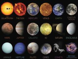 The Solar System Space Jigsaw Puzzle