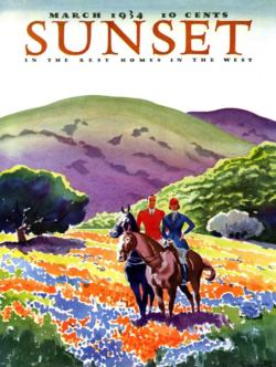 Horses in the Hills Magazines and Newspapers Jigsaw Puzzle