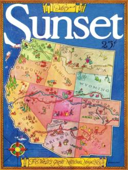 Magazine of the West United States Jigsaw Puzzle