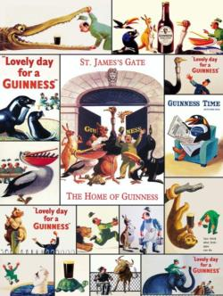 Who's Got the Guinness? Food and Drink Jigsaw Puzzle