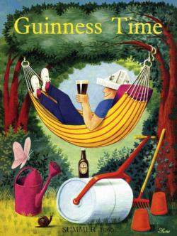 Relax with Guinness Food and Drink Jigsaw Puzzle