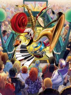 Feel the Rhythm Music Jigsaw Puzzle