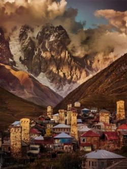 Ushguli Georgia Photography Jigsaw Puzzle