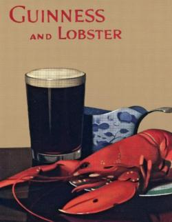 Guinness and Lobster Mini Food and Drink Miniature Puzzle