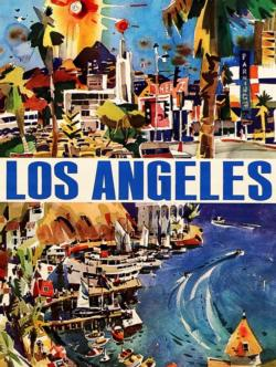 La La Land California Jigsaw Puzzle