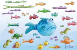Pout Pout Swims Along (Mini) Fish Children's Puzzles