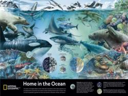 Home in the Ocean Fish Jigsaw Puzzle