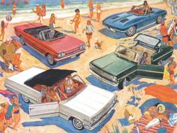 Fun in the Sun Cars Jigsaw Puzzle