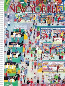 The Market Magazines and Newspapers Jigsaw Puzzle