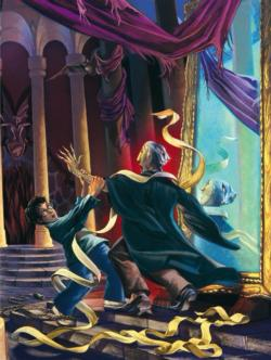 Unravelling Quirrell Harry Potter Jigsaw Puzzle