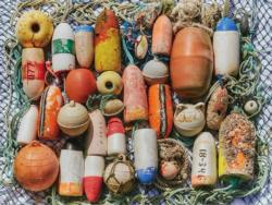 Buoys Collection Seascape / Coastal Living Jigsaw Puzzle