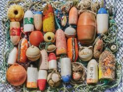 Buoys Collection Seascape / Coastal Living Jigsaw Puzzle