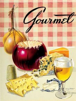 Cheese Tasting Magazines and Newspapers Jigsaw Puzzle