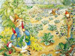 Peter Rabbit's Garden Snack Movies / Books / TV Jigsaw Puzzle