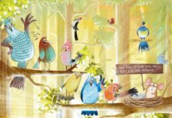 Woodbird Welcome Cartoon Children's Puzzles