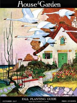 Swan Cottage Magazines and Newspapers Jigsaw Puzzle