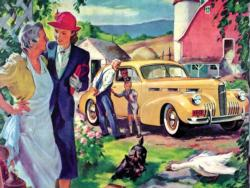 To Grandmother's House Cars Jigsaw Puzzle