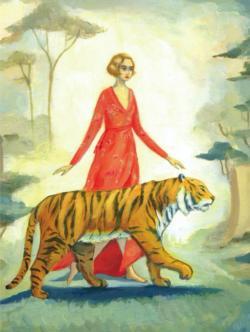 Tiger's Bride Tigers Jigsaw Puzzle