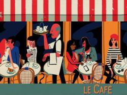 Le Café France Jigsaw Puzzle