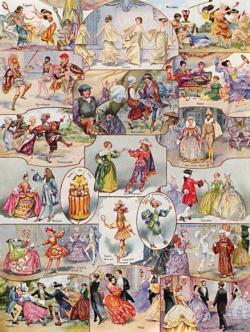 La Danse ~ Dances Dance Jigsaw Puzzle