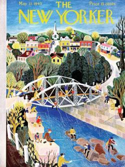 Fishing Bridge Bridges Jigsaw Puzzle