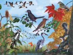 Autumn Trail Fall Jigsaw Puzzle