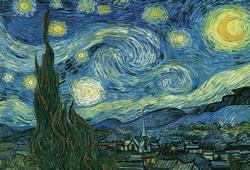 Starry Night by Van Gogh Van Gogh Starry Night 2000 and above
