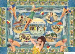 Born to Be Wild Collage Jigsaw Puzzle