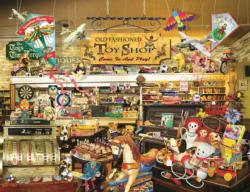 An Old Fashioned Toy Shop Nostalgic / Retro Large Piece