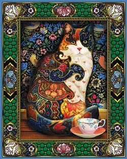 The Painted Cat Cats Jigsaw Puzzle