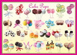 Cake Pops Pattern / Assortment Large Piece