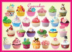 Cupcakes Pattern / Assortment Large Piece