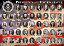 Presidents of the United States Pattern / Assortment Jigsaw Puzzle
