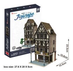 Tudor Restaurant Landmarks / Monuments 3D Puzzle