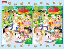 What's Different (Highlights) Cartoons Jigsaw Puzzle