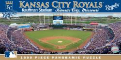 Kansas City Royals Baseball Panoramic Puzzle