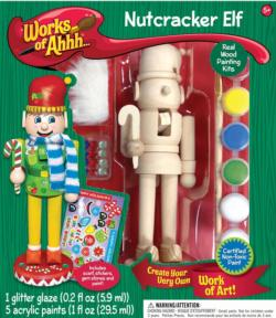 Works of Ahhh… Nutcracker Elf Arts and Crafts