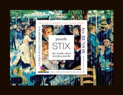 Puzzle Stix - Renoir Double Sided Puzzle