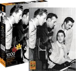 Million Dollar Quartet Music Jigsaw Puzzle