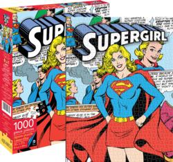 DC Comics Super Girl Graphics / Illustration Jigsaw Puzzle