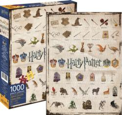 Harry Potter Icons Movies / Books / TV Jigsaw Puzzle