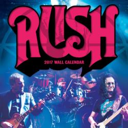 RUSH 2017 Wall Calendar Music Calendar